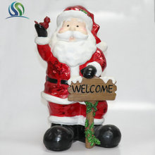 "19"" Big Old Man Kriss Model Santa Figurine For Christmas Celebrate Decoration"