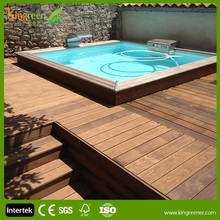 hidden fasteners design swimming pool composite decking using waterproof wood plastic swimming pool deck, wpc decking board