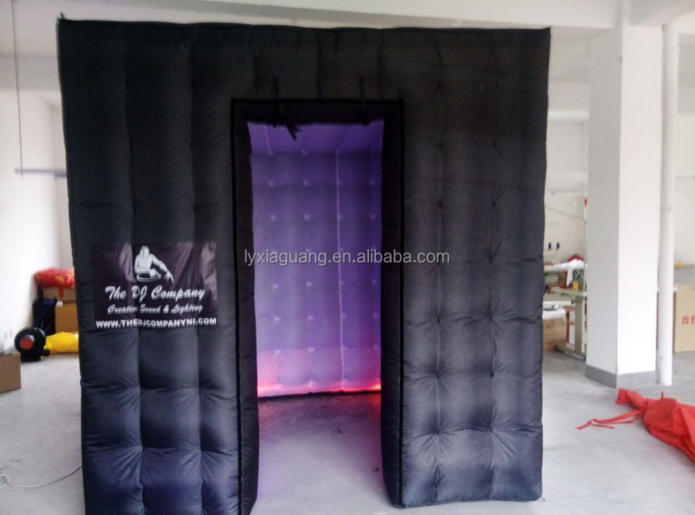 wholesale photobooth free standing custom made logo inflatable photo booth