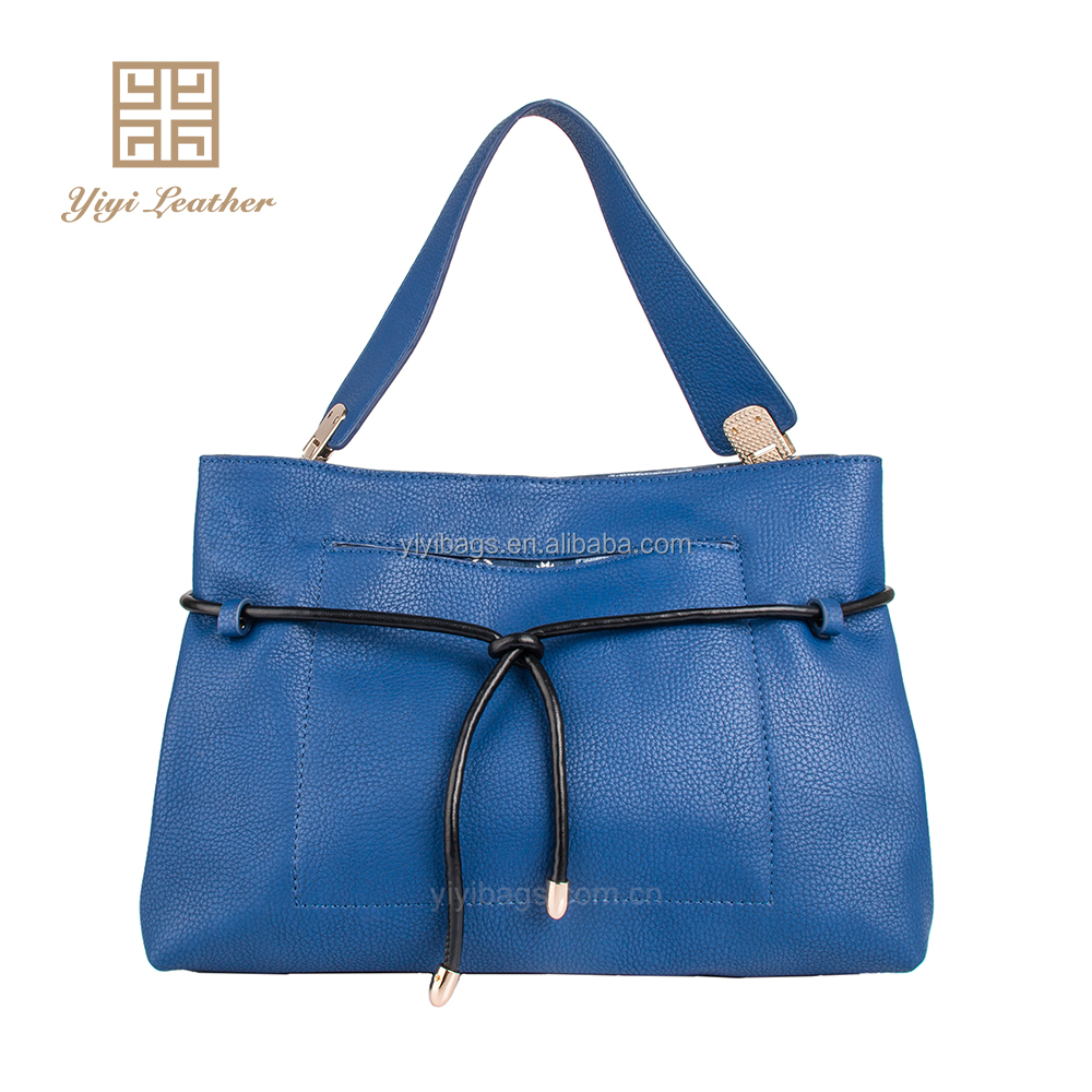 professional women blue ladies tote European felt tote bag
