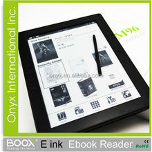 2015 New 10'' E-paper eBook e Reader Product With Stylus For Education Project