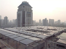 2013 Most popular pressurized heat pipe solar collector with high quality and low price