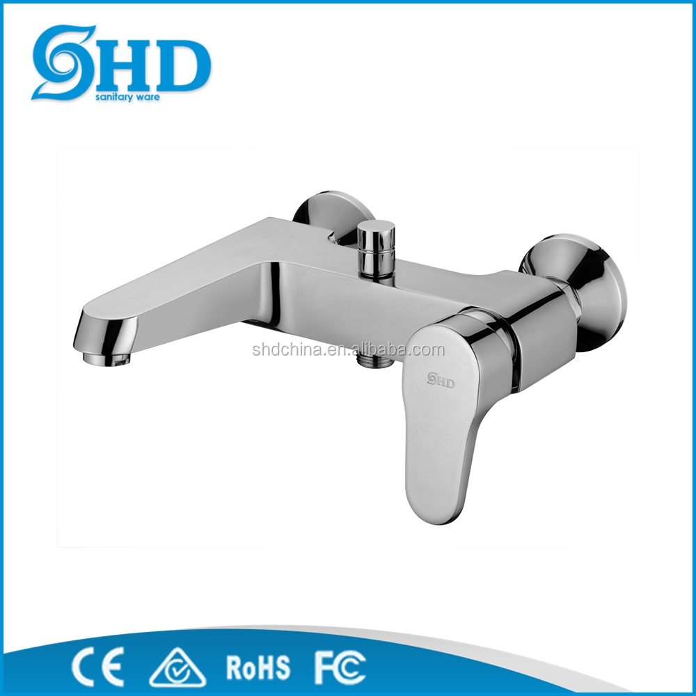 New Bathroom Wall Mounted Tap Shower Mixer Faucet, wall basin mixer