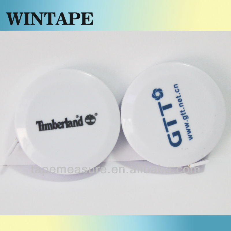 150cm/60inch Custom printed mini tape measure manufacturer promotional gift tailor's materials upon Your Name or Logo