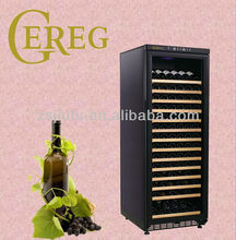 180-bottle full glass door with Lock protector Concise series wine holder