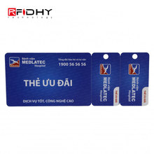 Factory Direct CR80 Card with 2 Key Tags for Gym Memberships