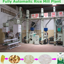 100 tons per day Modern fully automatice complete rice milling machine plant