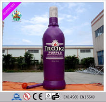 2016 Hot Selling Bottle Drink Inflatable Model for Advertising