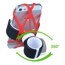 2017 Bike Bicycle Scooter Cup Holder Silicon Tie Bike Strap Phone Holder Rubber for iphone 6 6S 6 Plus 7 7plus
