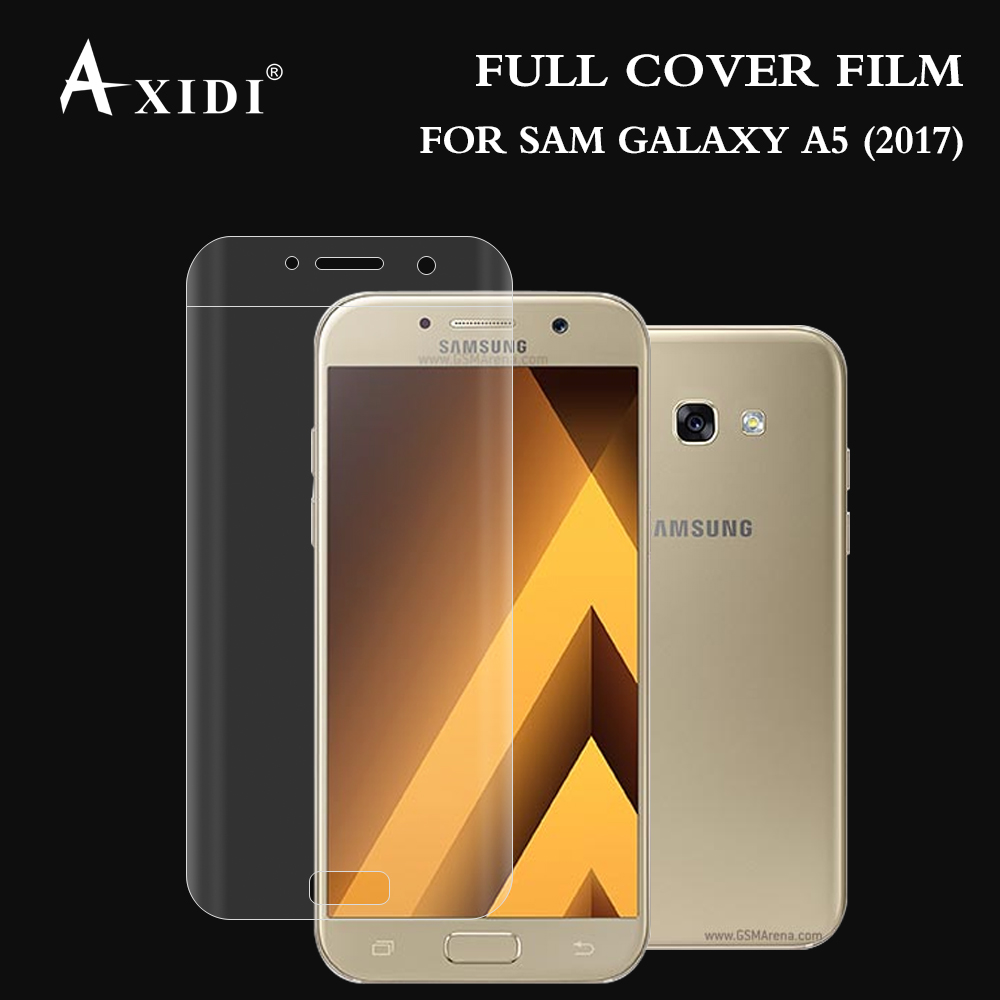 2017 High quality 3d Tpu Full Cover Screen Protector for Samsung Galaxy A5
