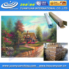 MOST POPULAR Yuanyuan WP-320LM-FR eco-friendly home decor moden Linen wholesale streched canvas roll
