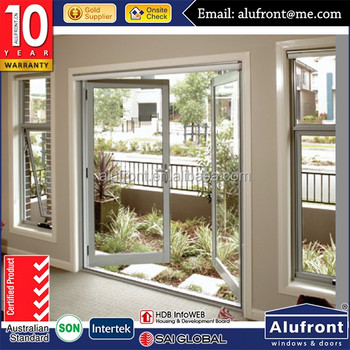 MODEL High Quality UPVC casement doors and windows for energy saving