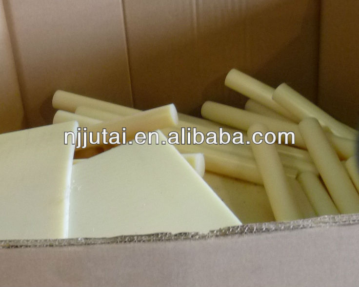 Ultra Slippery Natural Cast Nylon 6 Sheet and rod