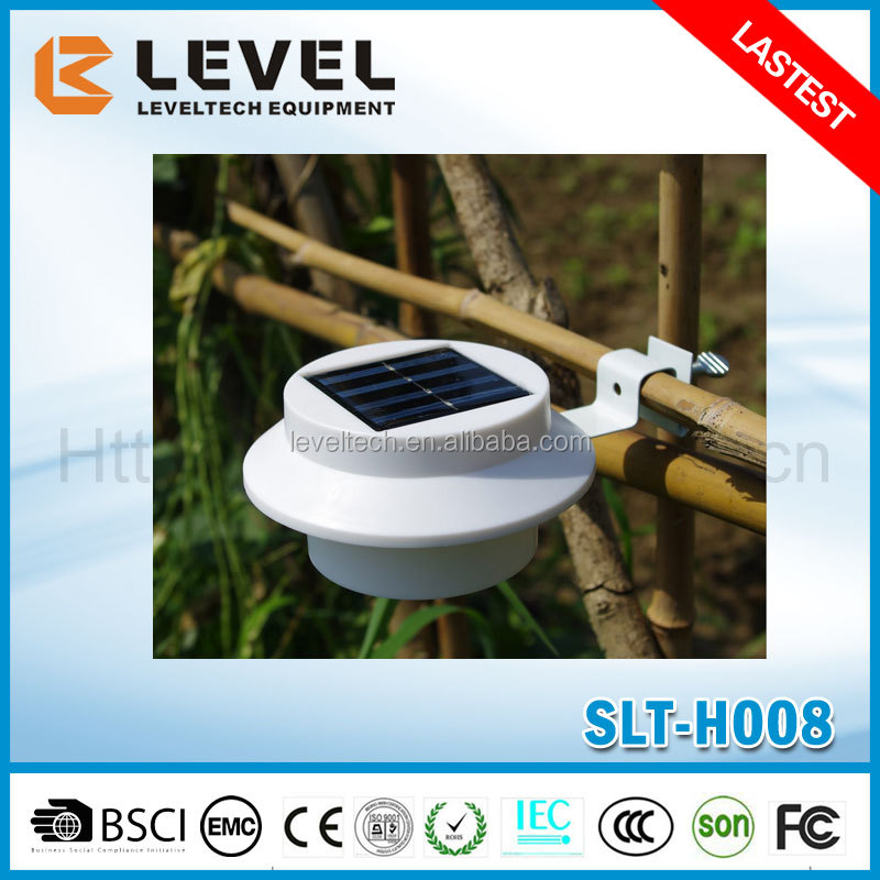 3pcs Supper Brightness LED 2V/120MA Polycrystalline Plastic+Iron Led Outside Wall Lights