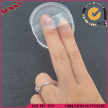 Air cushion BB cream washable silicone makeup sponge with finger belt