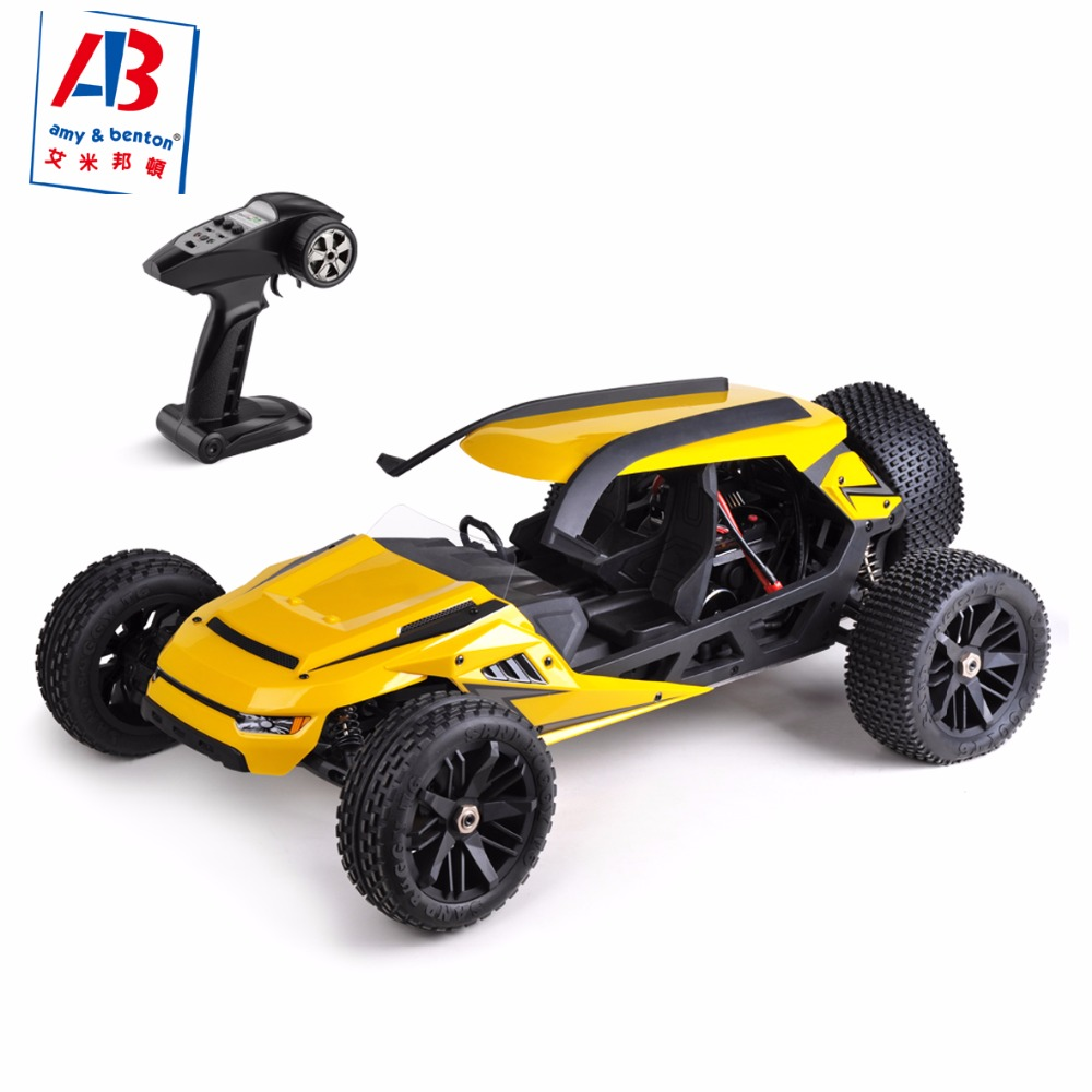 HBX T6 RC Car 4WD 2.4Ghz 1:6 Scale 70km/h High Speed Remote Control Car Electric Powered Off-road Vehicle model yellow