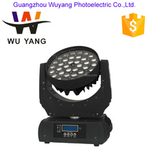 Good Quality Cheap Price 36*10W Led Moving Head wash zoom Light Stage led dj