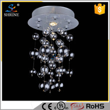 New Clear Acrylic Crystal Bead Chain Chandelier