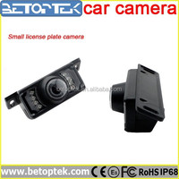 7 IR LEDS Small License Plate Camera CCD Night Vision Camera
