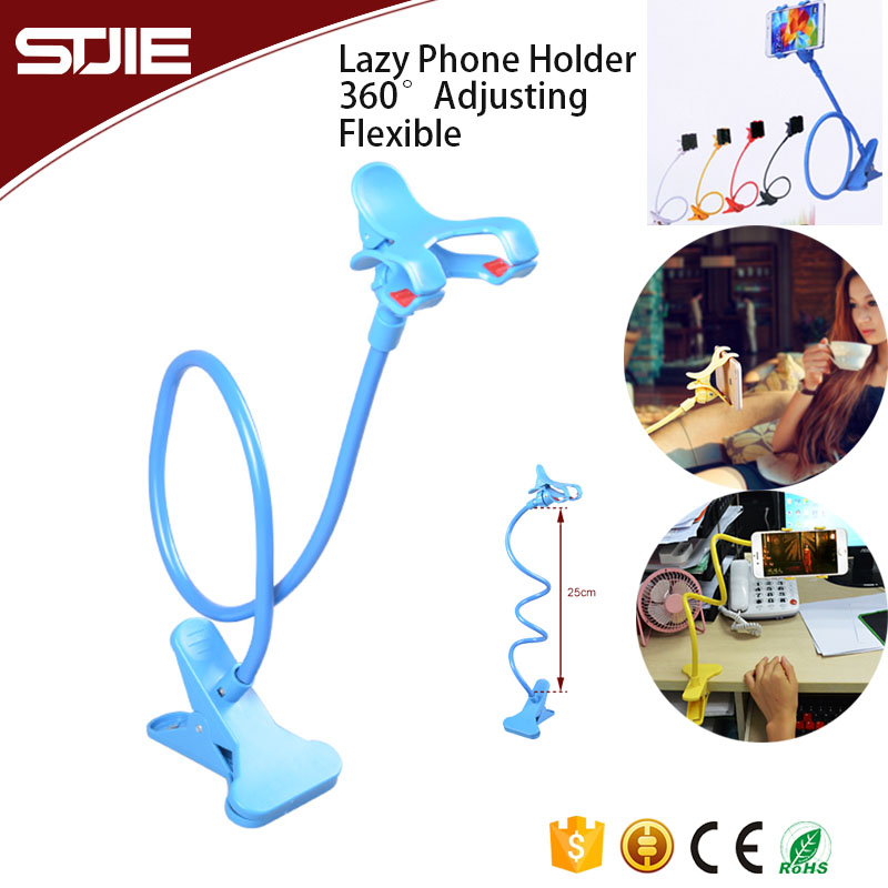 Universal design Long Arm Lazy Clip Flexible Mobile Phone Holder Cradle Stand For Mobile Phone