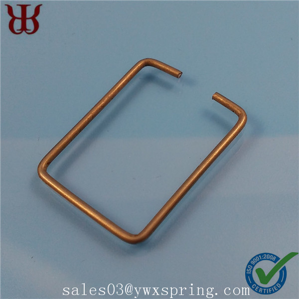 wire forming type galvanized steel snap hook