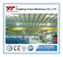 LDA type single box girder Overhead Crane/trailer mounted crane/crane and trailer mounted