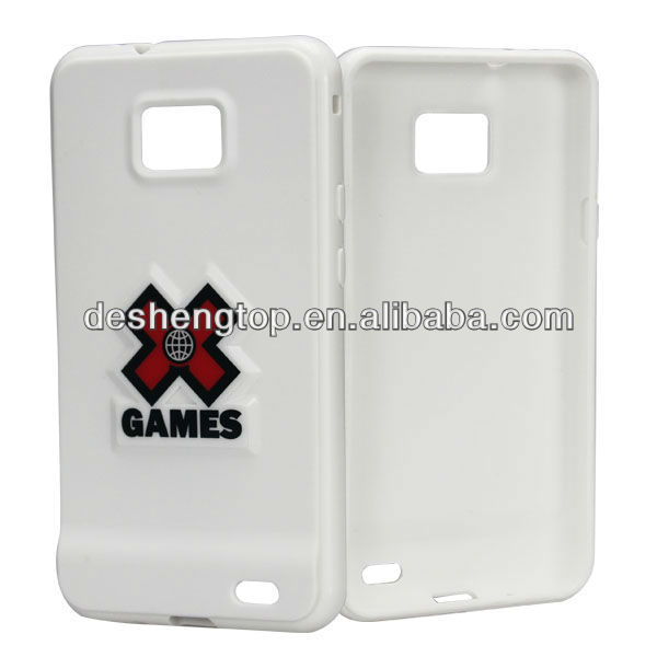 soft TPU material with IMD printing ,simple design factory supply for SAM I9100