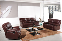 W473-lazy boy fabric recliner sofa /leather couch recliner