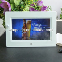 new digital photo frames 7inch 16:9 video function with motion sensor