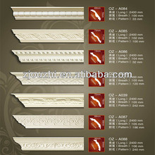 2014 hot sale colorful pu foam cornice mouldings for home decoration