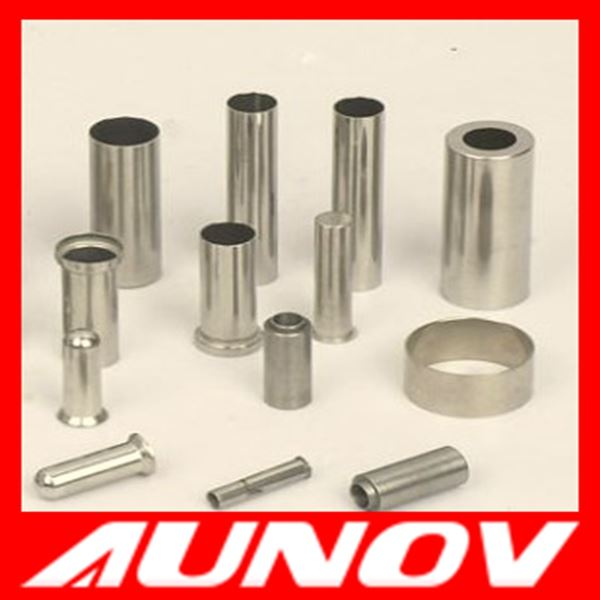 Custom precision stainless steel deep drawn tubes