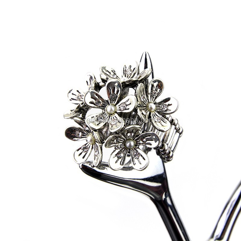 Wholesale Fashion Vintage Flower Vogue Jewelry Wedding Rings R-250929 0125
