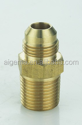 Brass fittings connectors plumbing union compression copper Tee fittings for air hose