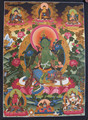 Amazing Green Tara Thangka Tibetan High Quality Handmade in Nepal