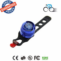 BL-30B Waterproof Cool LED Cycling Bike Bicycle multifunction Front Rear Tail Helmet Blue Flash Light Safety Warning lamp Lights