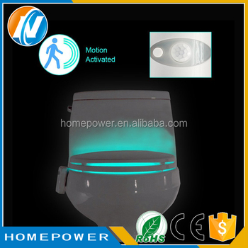 2017 Top Quality small motion sensor bathroom night led toilet light for sale