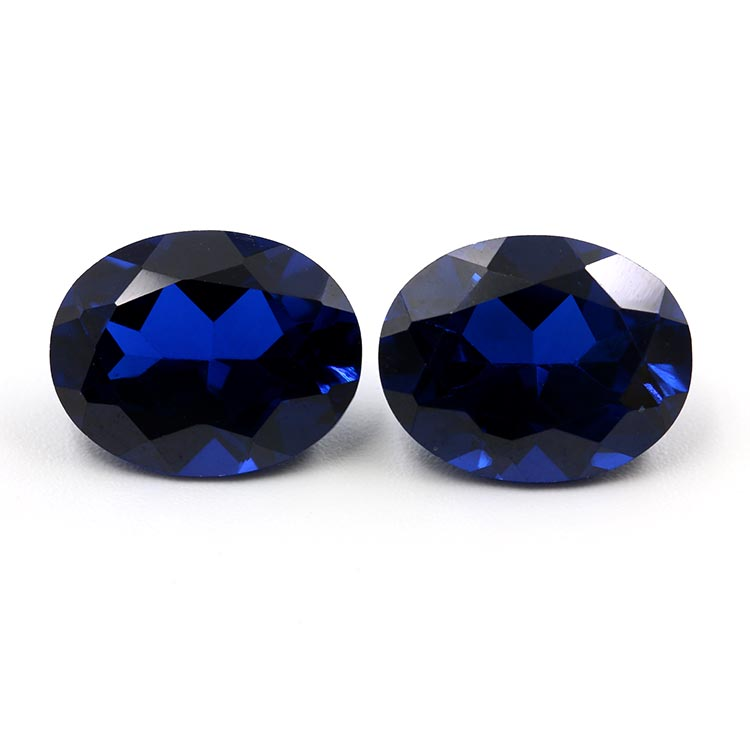 top quality oval shape 113# synthetic spinel gemstone