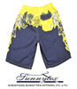 custom 100% polyester mens sublimation kids beach shorts, board shorts