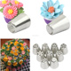 12pcs 304 s/s russian tulip Icing piping Nozzles Decorating Cakes and Cake Decorating Pastry Tips
