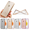 For iphone 6 cover, Electroplate clear TPU Mobile phone cover for iphone