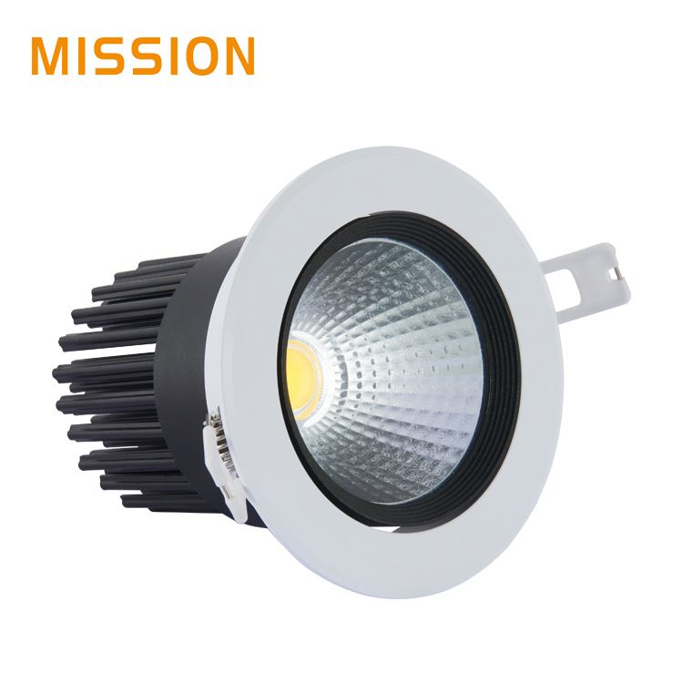 Wholesale led downlight casing latest led downlight with 120mm cut out led commercial down light 6 inch