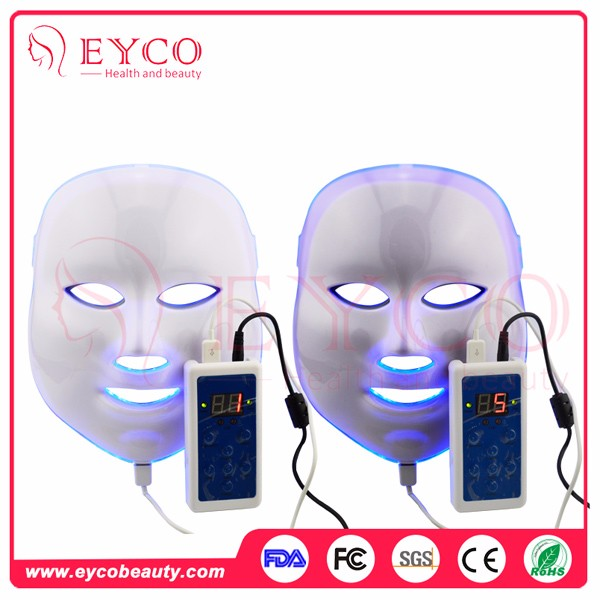 EYCO blue light acne treatment reviews does red light therapy work led facial treatment mask