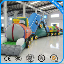 Guangqian High Quality Long Train Inflatable Tunnel For Outdoor Promotion