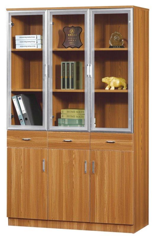 aluminum glass door bookcase