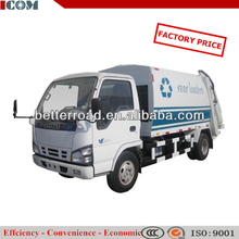 compression-type mini garbage trucks for sale