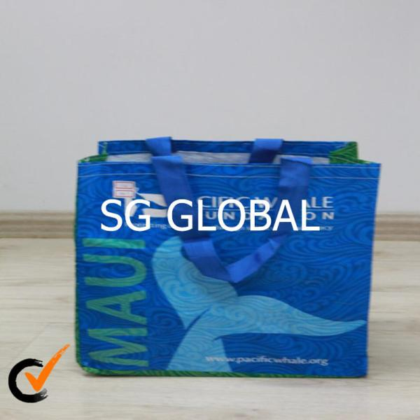 Decorative reusable pp shopping bags luxury paper shopping bag