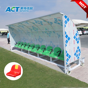 Portable soccer substitute bench for sale