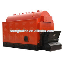 Full automatis coal fired steam boiler with the travelling chain