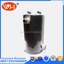 Easy Installation stainless steel swimming pool heat exchanger,Spa pool titanium heat exchanger,heat pool
