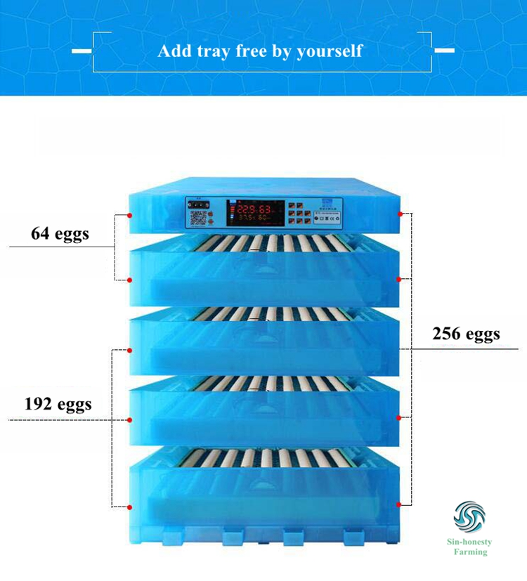 Mini egg incubator Fully automatic egg incubator great quality chicken egg incubator with remote control